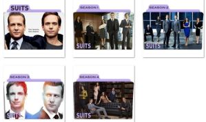 Suits Folder Icons by nellanel