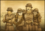 NCR Troopers by pokketmowse