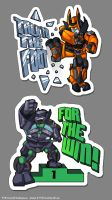 TF OC - Stickers by Lizkay
