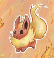 Flareon by PictoShaman