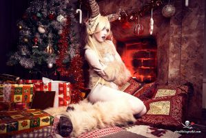 Krampus cosplay - christmas set by Adelbra