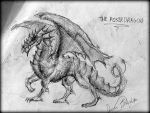 The Poser Dragon by jimmyst1