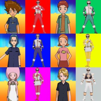 Digimon MMPR (Season 2) by PinkRangerFan