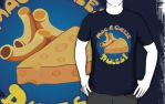 Mac and Cheese Rules T by sicklilmonky