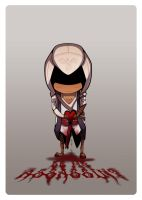 Assassins Creed: Valentines Card by nerdyridbug