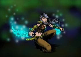 Kill Stealers Thaylia colors by carriehowarth