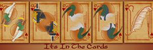It's In the Cards II by SargassosArt
