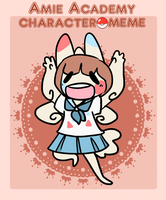 Amie Character Meme by HauntedHomo