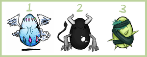 Egg Adopts 3 [CLOSED] by strxbe