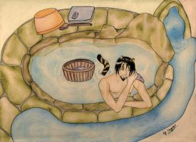Lamento: Bathing Bardo by cayra