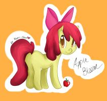 MLP: Apple Bloom by Monii--Chan