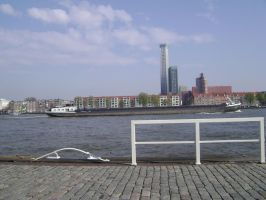 The long shore of River Maas VII by TammuzAsmodeus