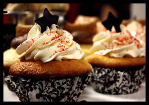 Star cupcakes by Speechlessly