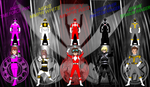 DigiFusion SM Morphin' Madness for Andruril93 by rangeranime