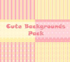 Cute Backgrounds Pack by OriginStory