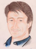 Nathan Fillion by Connors-Tomahawk
