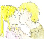 Al and Winry by landra15