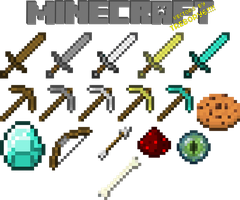 Minecraft Vectors by trebory6