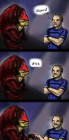 Shepard...Wrex... by jameson9101322