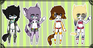[Kois] Anthro Set {Open} by Mysteryy-Adopts