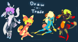 Draw or Trade Adoptables .:Closed!:. by Pieology