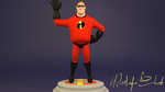 3d Mr.incredible model by M-Ehab