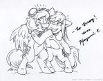 Fun At Bronycon: Autograph! by MustLoveFrogs