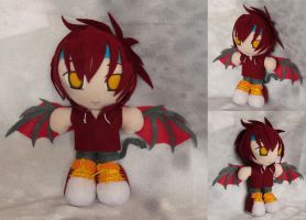 Commission, Mini Plushie Eratos Vasilios by LadyoftheSeireitei