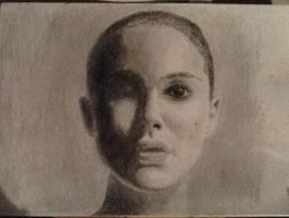 Natalie Portman (from Black Swan) by Art-O-mania
