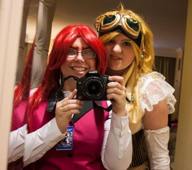 Just a picture with Photographer Grell :D by ParanoidDoll91