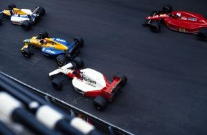 N.Mansell |N.Piquet|G.Berger|A.Prost (Monaco 1991) by F1-history