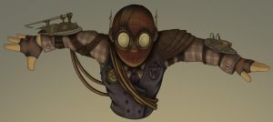 Draft07 - Steampunk Spider-Man by whysoawesome