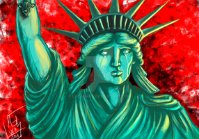 Liberty Cries by LucasMGS