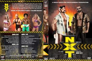 WWE NXT August 2013 DVD Cover by Chirantha