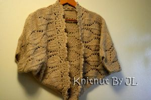 Handmade shrug by Knitnutbyjl
