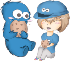 Cookie Monster by anime-freaks