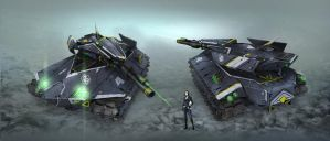 Stealth Tank by kianchai