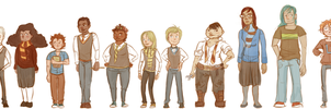 Next Generation character lineup by SchwaGirl