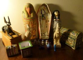 Egyptian Stuff by dashinvaine