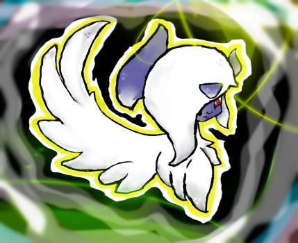Mega Absol by SherBetIcy