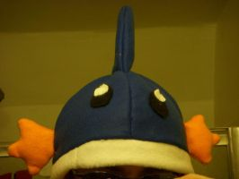 Mudkip Hat by BlameTheEconomy