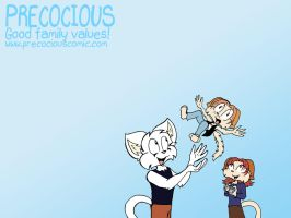 Precocious Wallpaper 3 by chrispco