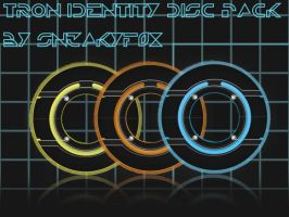 HD Tron Identity Disc Pack by SN3AKYfox