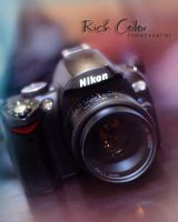 Rich Color of Nikon by potretnaeunice