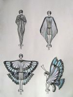 Butterfly lady by ThisOneOfMarvels