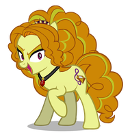 Adagio Dazzle- 3/4 View by DragonMaster137