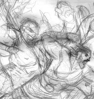Herc and Hulk Process by ReillyBrown