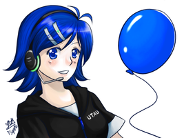 Aiko likes Balloons by yesi-chan