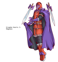 Magneto, Kingdom Hearts by alessandelpho