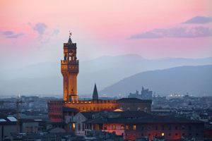 Pallazzo Vecchio at Dusk by Quit007